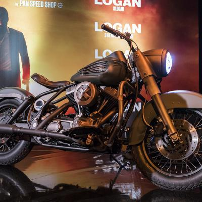 "MARZO2017 Curiosidades de La moto de Logan ""Tributo a Lobezno""."