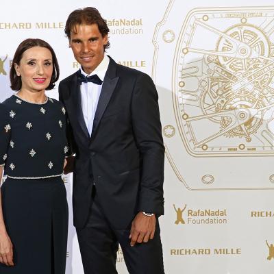 23MAYO2015La Fundación Rafael Nadal celebró en París su primera Gala Internacional.