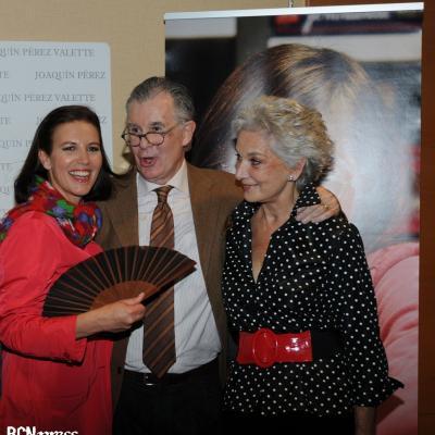 07ABRIL2011 La Fundación Catalana Síndrome de Down celebró, la novena edición de su desfile de Moda Solidaria. Izq. a dcha. Jutta Jäger, Joaquín Peréz-Valette y Lluïsa Sallent. Foto: Montse Carreño.