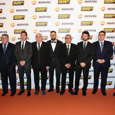 05FEBRERO2018 El tenis campeón absoluto en la Gran Gala del Mundo Deportivo. Miembros del Espanyol. Foto: Montse Carreño.