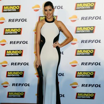 05FEBRERO2018 El tenis campeón absoluto en la Gran Gala del Mundo Deportivo. Sofía del Prado, Miss Universo España. Foto: Montse Carreño.