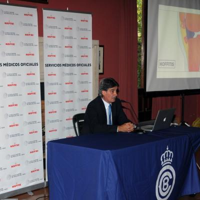 05SEPTIEMBRE2012 Rueda de prensa para aclarar la lesión de Rafa Nadal. Foto: Montse Carreño.