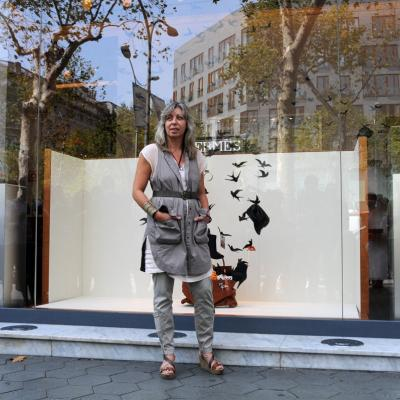 12SEPTIEMBRE2012 Escaparate de Hermès. Foto: Montse Carreño.
