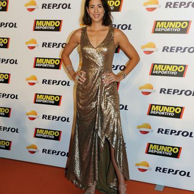 05FEBRERO2018 El tenis campeón absoluto en la Gran Gala del Mundo Deportivo. Garbiñe Muguruza.  Foto: Montse Carreño.