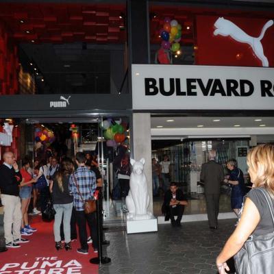 13SEPTIEMBRE2012 Inauguración de la primera tienda en Barcelona de Puma. Foto: Montse Carreño.