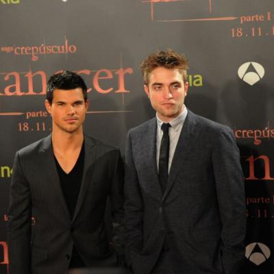 """17NOVIEMBRE2011 Estreno de la premier en Barcelona, de la película """"Amanecer: Parte I"""", con Robert Pattinson y Taylor Lautner. Foto: Montse Carreño."""