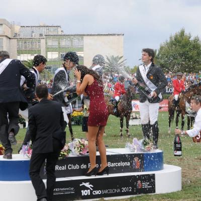 20 al 23SEPTIEMBRE2012 101ª edición del Concurso Internacional de Saltos (CSIO) de Barcelona. Foto: Montse Carreño.