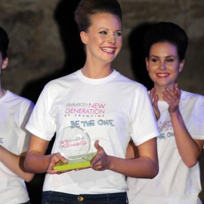 11JUNIO2013 Salerm Cosmetics New Generation by Francina ya tiene ganadores de su quinta edición. Ganadora curvy. Foto: Montse Carreño.