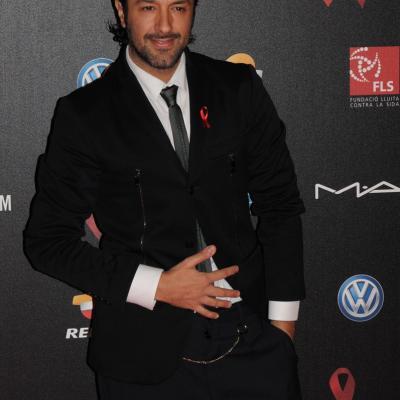 25NOVIEMBRE2013 Cuarto año en Barcelona de la Gala del Sida. Rafael Amargo. Foto: Montse Carreño.