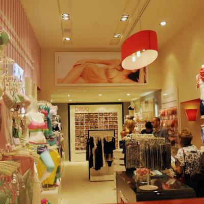 20JUNIO2013 Inauguración de la nueva Flagship Store de Yamamay, en Barcelona.Foto: Montse Carreño.