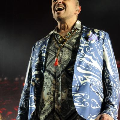 27SEPRIEMBRE2012 Concierto Miguel Bosé en el Palau Sant Jordi de Barcelona. Foto: Montse Carreño.