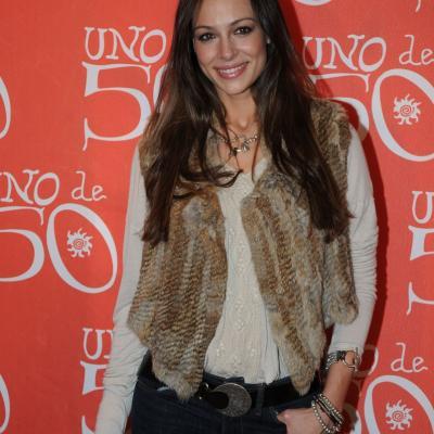 24NOVIEMBRE2011 Eva González, en el 15 aniversario de la firma española UNO de 50. Foto: Montse Carreño.