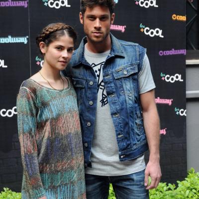 """26JUNIO2013 Entrega de los premios  de la III Edición de """"Los Más Cool""""  de Coolway. Alba Galocha y José Lamuño. Foto: Montse Carreño."""