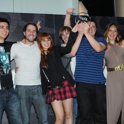"""26JUNIO2013 Entrega de los premios  de la III Edición de """"Los Más Cool""""  de Coolway. Premio Music Band. Foto: Montse Carreño."""
