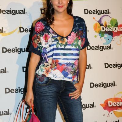 09JULIO2013 Desfile en el 080 Barcelona Fashion de Desigual. Mireia Verdú.  Foto: Montse Carreño.