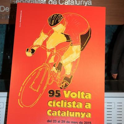 16MARZO2015 Presentación del recorrido de la Volta Cicliste a Catalunya. Foto: Montse Carreño.