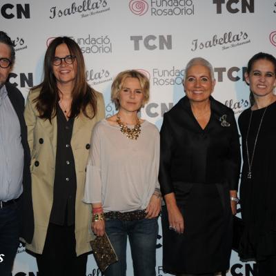 04MAYO2011 TCN y la Fundación Rosa Oriol firman un acuerdo de colaboración, contaron con una invitada de honor, Eugenia Martínez de Irujo y la vicepresidenta Helena Rakosnik. Foto: Montse Carreño.