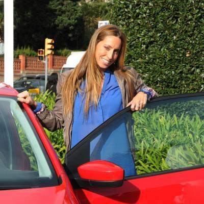 14DICIEMBRE2011 Gemma Mengual nueva embajadora de Seat, presentando el nuevo modelo Mii. Foto: Montse Carreño.