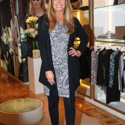 15DICIEMBRE2011 Carla Goyanes en la inauguración de la primera tienda Naulover en Barcelona. Foto: Montse Carreño.