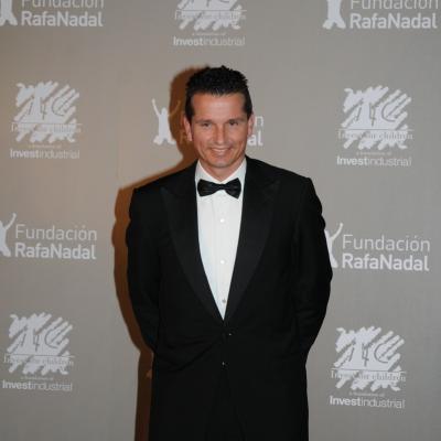 """15DICIEMBRE2011 Gala """"Juntos por la integración"""", organizada por la Fundación Rafa Nadal e Invest for Children. Richard Krajicek. Foto: Montse Carreño."""