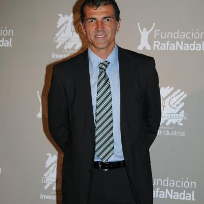 """15DICIEMBRE2011 Gala """"Juntos por la integración"""", organizada por la Fundación Rafa Nadal e Invest for Children. Miguel Ángel Nadal. Foto: Montse Carreño."""