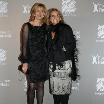 """15DICIEMBRE2011 Gala """"Juntos por la integración"""", organizada por la Fundación Rafa Nadal e Invest for Children. Ana Mª Parera (madre) y Helena Rakosnik.Foto: Montse Carreño."""