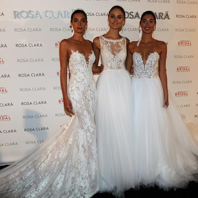 25ABRIL2017 Desfile Rosa Clará en la Barcelona Bridal Fashion Week. Foto: Montse Carreño.
