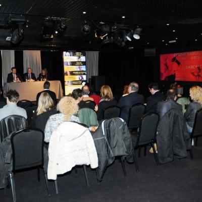 15ENERO2014 Presentación de la programación de las Cenas con espectáculo en el Casino Barcelona. Foto: Montse Carreño.