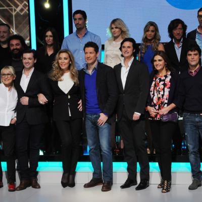 23ENERO2014 Vuelve a la 1 de TVE el programa ¡Mira quién baila!. Concursantes, jurado y presentador. Foto: Montse Carreño.