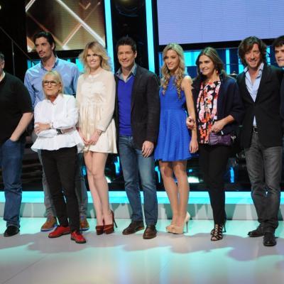 23ENERO2014 Vuelve a la 1 de TVE el programa ¡Mira quién baila!. Concursantes y presentador. Foto: Montse Carreño.