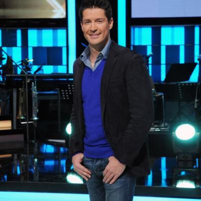 23ENERO2014 Vuelve a la 1 de TVE el programa ¡Mira quién baila!. Jaime Cantizano, presentador. Foto: Montse Carreño.