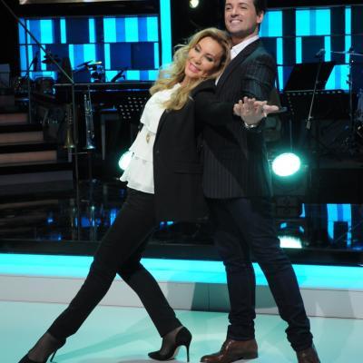 23ENERO2014 Vuelve a la 1 de TVE el programa ¡Mira quién baila!. NOrma Duval y Ángel Corella. Foto: Montse Carreño.