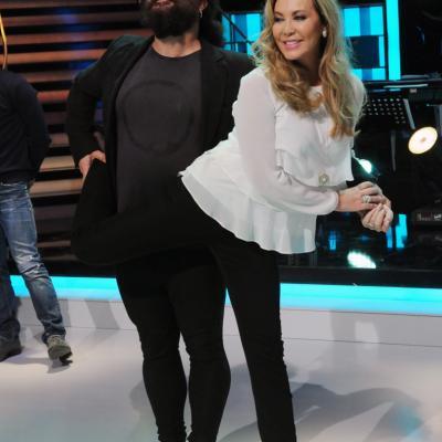 23ENERO2014 Vuelve a la 1 de TVE el programa ¡Mira quién baila!. 'El Sevilla' y Norma Duval. Foto: Montse Carreño.