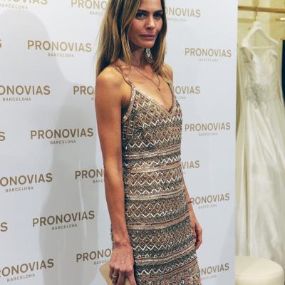08OCTUBRE2014 Inauguración de la nueva boutique de Pronovias, la más grande de Europa. Foto:Montse Carreño.