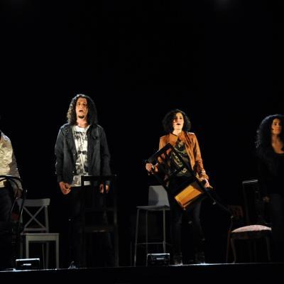 """25ENERO2013 """"Over the Moon"""" prorroga en el Almería Teatro. Foto: Montse Carreño."""