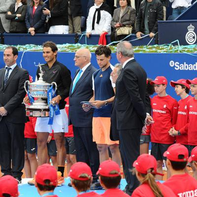 30ABRIL2017 Barcelona Open Banc Sabadell-65º Trofeo Conde de Godó. Foto: Montse Carreño.