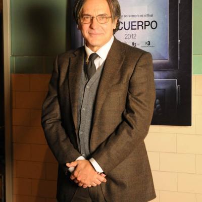 """08MARZO2012 Rodaje de la película """"El cuerpo"""" con José Coronado, Belén Rueda y Hugo Silva. Foto: Montse Carreño."""