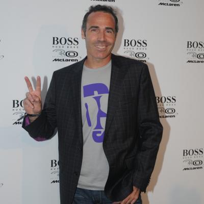 19MAYO2011 Hugo Boss y McLaren celebran el 30 Aniversario de colaboración en la Boss Flagship Store de Paseo de Grácia en Barcelona. Alex Corretja. Foto: Montse Carreño.