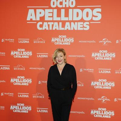 "19NOVIEMBRE2015 Première en Catalunya de ""Ocho apellidos catalanes"". Carmen Machi. Foto: Montse Carreño."