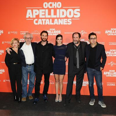 """19NOVIEMBRE2015 Première en Catalunya de """"Ocho apellidos catalanes"""". Foto: Montse Carreño."""