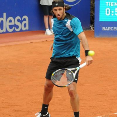 14JUNIO2012 Imagen de Feliciano López en el Trofeo Conde de Godo de 2012. Foto: Montse Carreño.