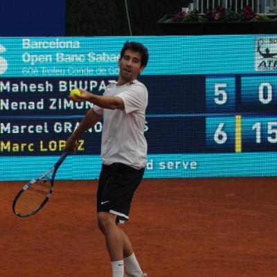 07SEPTIEMBRE-2012 Marc López viajará a Gijón con el equipo de Copa Davis. Foto: Montse Carreño.