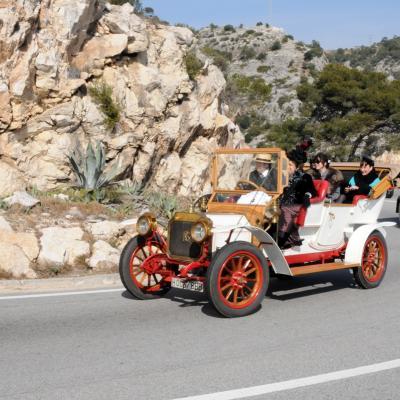 03MARZO2013 55 edición del rally de coches de época Barcelona-Sitges. Foto: Montse Carreño.