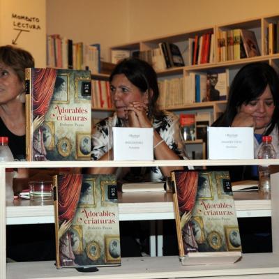 """19MARZO2013 Presentación del libro """"Adorables criaturas"""", con dos madrinas de lujo, Mercedes Milà y Anna Alós. Foto: Montse Carreño."""