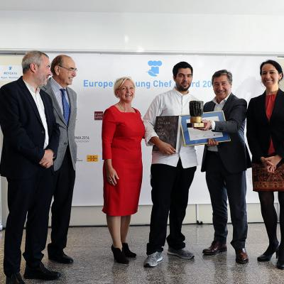 14NOVIEMBRE2016 European Young Chef Award 2016 en Sant Pol de Mar. Foto: Montse Carreño.