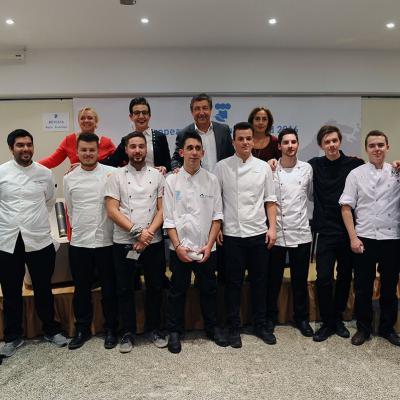 14NOVIEMBRE2016 European Young Chef Award 2016 en Sant Pol de Mar. Tertulia y los participantes al concurso. Foto: Montse Carreño.