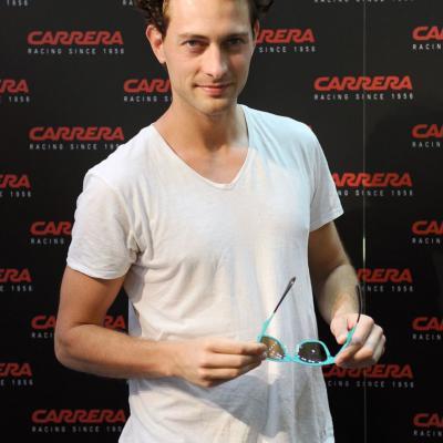 26JUNIO2014 Miriam Giovanelli y Peter Vives presentaron en exclusiva la colección Carrera Metal Icon. Foto: Montse Carreño.