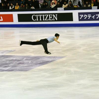 10 al 13 DICIEMBRE2015 Javier Fernández, plata en la final del ISU Grand Prix en Barcelona. Foto: Montse Carreño.