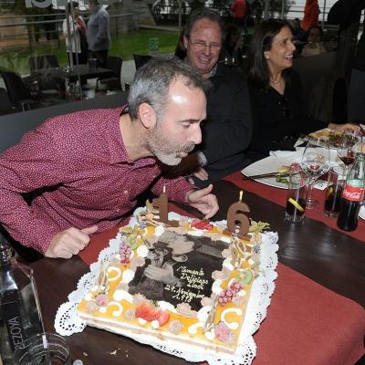 29NOVIEMBRE2014 Homenaje a Álex Corretja para recordar su triunfo en la Copa Masters, hace 16 años. Foto: Montse Carreño.