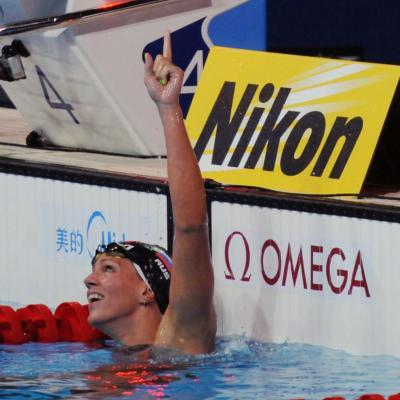 04AGOSTO2013 Clausura y medalla de plata de Mireia Belmonte.  50m braza ganaora Yuliya Efimova. Foto: Manel Martin. .